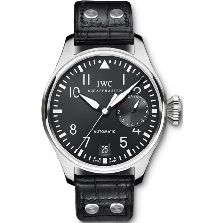 IWC Big Pilots Automatic Stainless Steel Case Watch IW500901