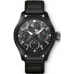 IWC Big Pilots Top Gun Mens Matte Black Ceramic Watch IW502902