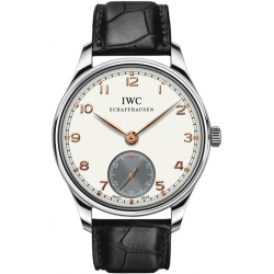 IWC Portofino Hand Wound Mens Stainless Steel Watch IW5454-05