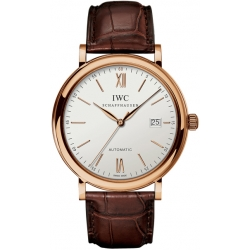 IWC Portofino Automatic Mens 18K Rose Gold Watch IW356504