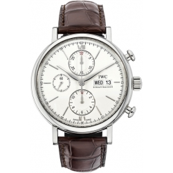 IWC Portofino Automatic Chronograph Mens Steel Watch IW391001