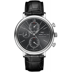 IWC Portofino Automatic Chronograph Steel Watch IW391002