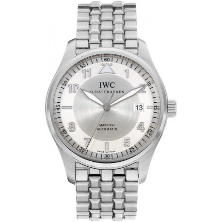 IWC Spitfire Mark XVI Automatic Steel Bracelet Watch IW325505
