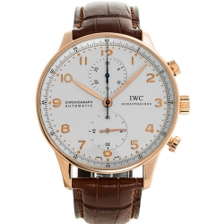 IWC Portuguese Automatic Mens Rose Gold Watch IW371480