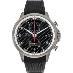 IWC Portuguese Yacht Club Carbon Fiber Titanium Watch IW390212