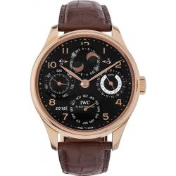 IWC Portuguese Perpetual Calendar Rose Gold Watch IW503202