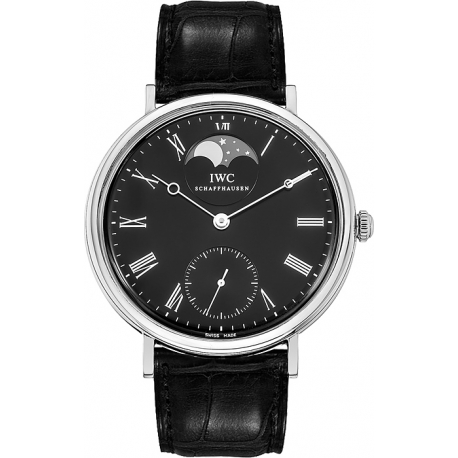 IWC Vintage Portofino Hand Wound Mens Steel Watch IW544801