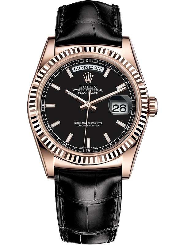rolex-day-date-36-everose-gold-black-dia