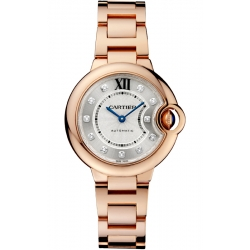 Ballon Bleu de Cartier 33 mm 18K Pink Gold Watch WE902062