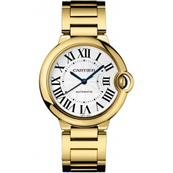 Ballon Bleu de Cartier 36 mm 18K Yellow Gold Watch WGBB0011
