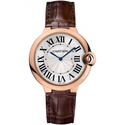 Ballon Bleu de Cartier 40 mm Brown Leather Watch W6920083