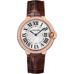 Ballon Bleu de Cartier 40 mm Diamond 18K Pink Gold Watch WE902055