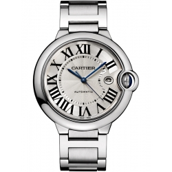 Ballon Bleu de Cartier 42 mm Steel Bracelet Watch W69012Z4