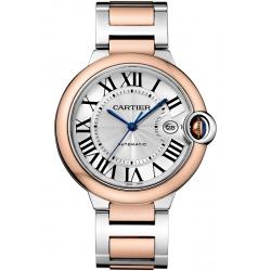 Ballon Bleu de Cartier 42 mm 18K Pink Gold Steel Watch W2BB0004