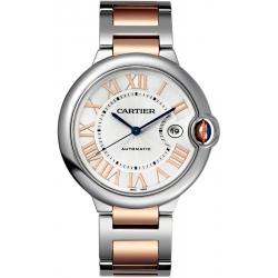 Ballon Bleu de Cartier 42 mm 18K Pink Gold Steel Watch W6920095