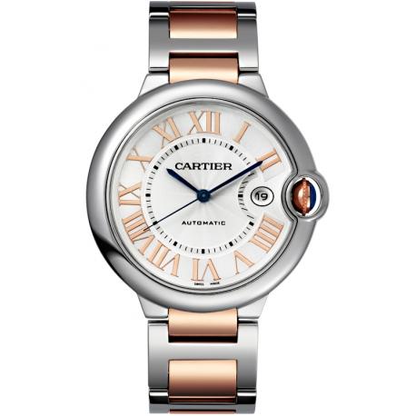 W2BB0022 Ballon Bleu de Cartier 42 mm Steel 18K Pink Gold Watch