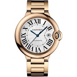 WGBB0016 Cartier Ballon Bleu 42 mm 18K Pink Gold Bracelet Watch