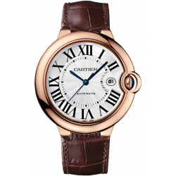 Ballon Bleu de Cartier 42 mm Brown Leather Watch WGBB0017