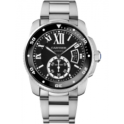 Calibre de Cartier Diver Steel Bracelet Watch W7100057