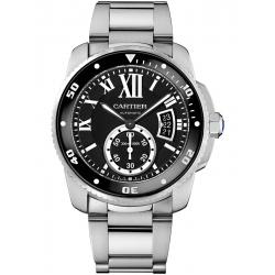 W7100057 Calibre de Cartier Diver Automatic Steel Bracelet Watch