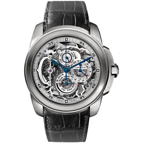 W7100031 Calibre de Cartier Grande Complication Platinum Watch
