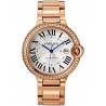 WJBB0038 Ballon Bleu de Cartier 42mm 18K Pink Gold Diamond Watch