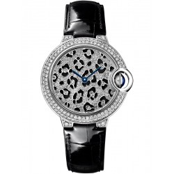 Ballon Bleu de Cartier Panther Spots 33 mm Watch HPI01064