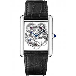 Tank Louis Cartier XL Skeleton 18K White Gold Watch W5310012
