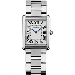 Cartier Tank Solo Large Steel Bracelet Watch W5200014