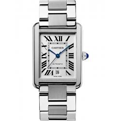 W5200028 Cartier Tank Solo XL Steel Bracelet Mens Watch
