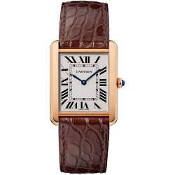 Cartier Tank Solo Large 18K Pink Gold Case Watch W5200025