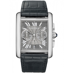 Cartier Tank MC Chronograph Large Gray Dial Watch W5330008