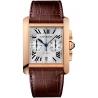 W5330005 Cartier Tank MC Chronograph Large Rose Gold Mens Watch