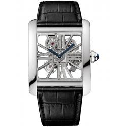 Cartier Tank MC Skeleton Large Palladium Watch W5310026
