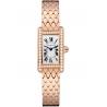 WB710012 Cartier Tank Americaine Mini Diamond Pink Gold Bracelet Watch