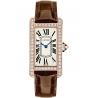 WJTA0002 Cartier Tank Americaine Small 18K Pink Gold Diamond Watch