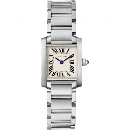 W51008Q3 Cartier Tank Francaise Small Steel Bracelet Watch