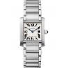 WSTA0005 Cartier Tank Francaise Medium Steel Bracelet Watch
