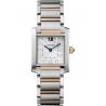 WE110005 Cartier Tank Francaise Medium Steel Pink Gold Watch