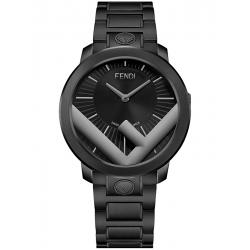Fendi Run Away 41mm Gray F Black Bracelet Mens Watch FOW805A17HF0QA1