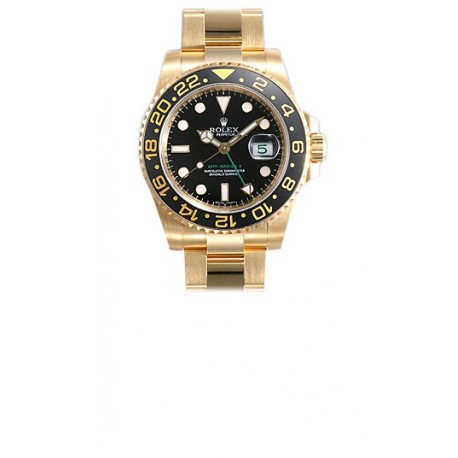 Rolex Oyster Perpetual GMT-Master II Mens Watch 116718-BKSO
