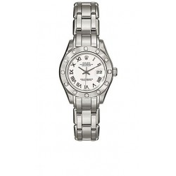 Rolex Oyster Perpetual Lady Datejust Pearlmaster Watch 80319-PM