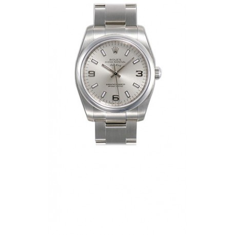 Rolex Oyster Perpetual Air King Mens Watch 114200 Sablso