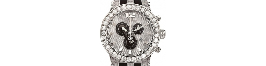 Mens and Womens Joe Rodeo Diamond Watches