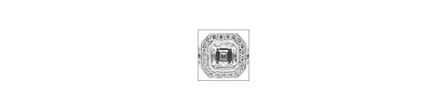 Mens Womens Diamond Rings