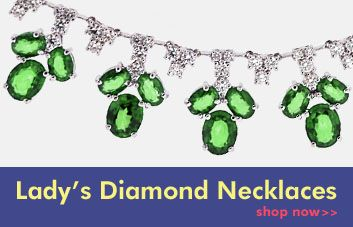 Lady's Diamond Necklaces