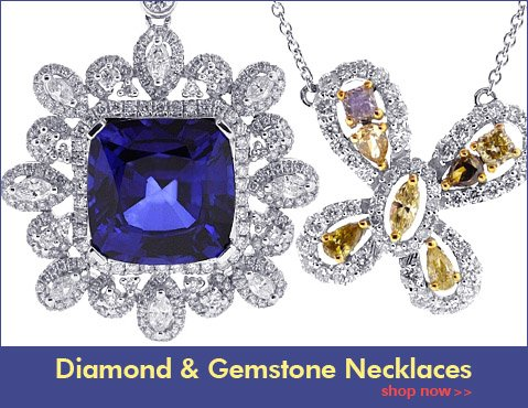 Diamond & Gemstone Necklaces