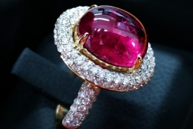Pink Tourmaline - October Birthstone: History, Meaning, Usage