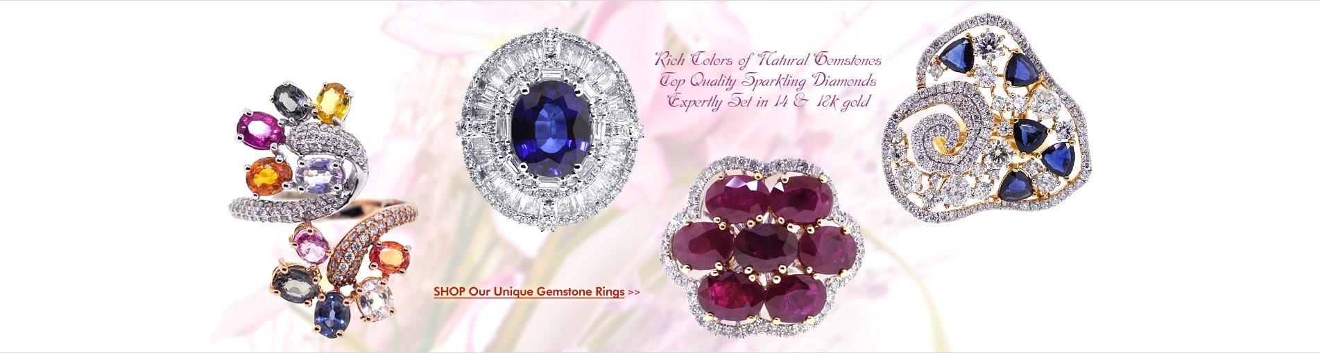 Shop Our Unique Gemstone Rings!