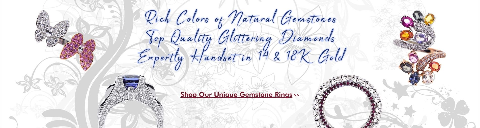 Shop Our Unique Gemstone Rings!